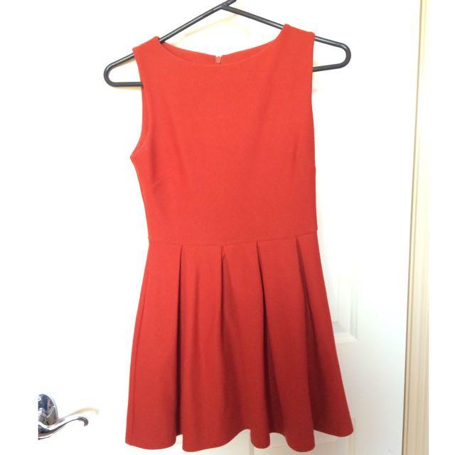 Topshop Petite Skater Dress