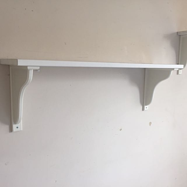 Two IKEA shelves