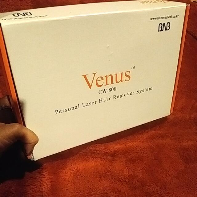 Venus Personal Laser Hair Removal System