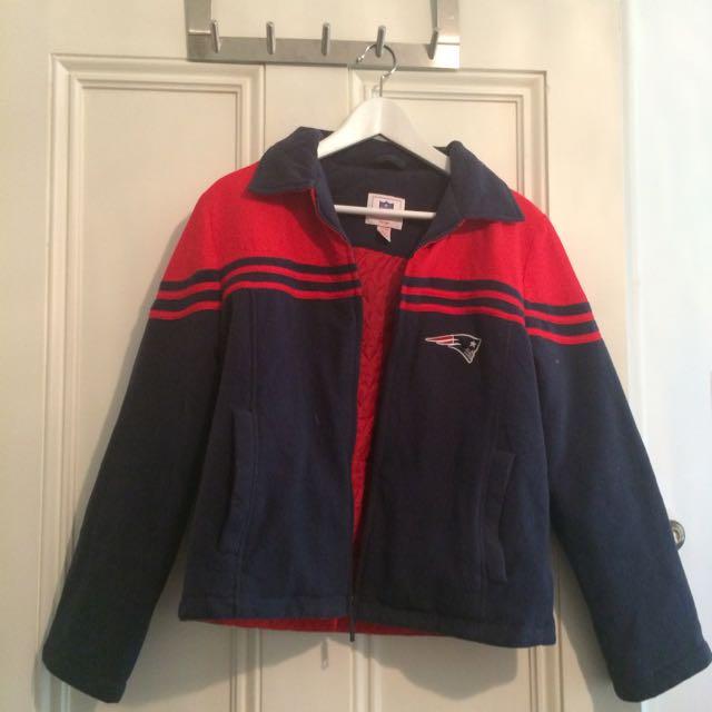 Vintage NFL New England Patriots Fleece Jacket