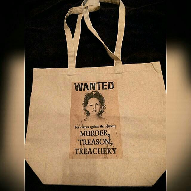 🆕Wanted Canvas Tote Bag