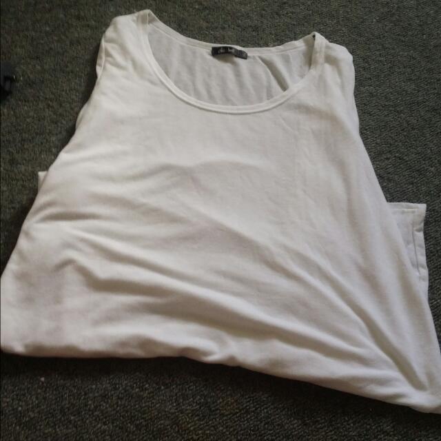 White Long Top