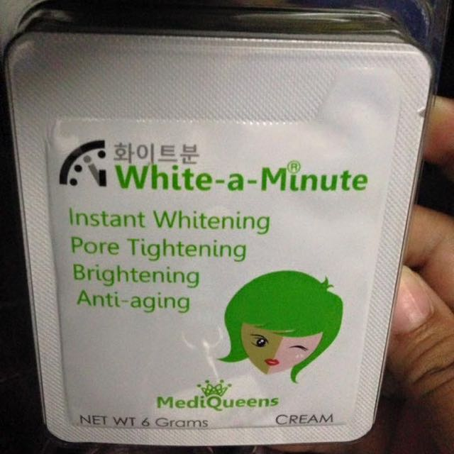White-A-Minute!!!