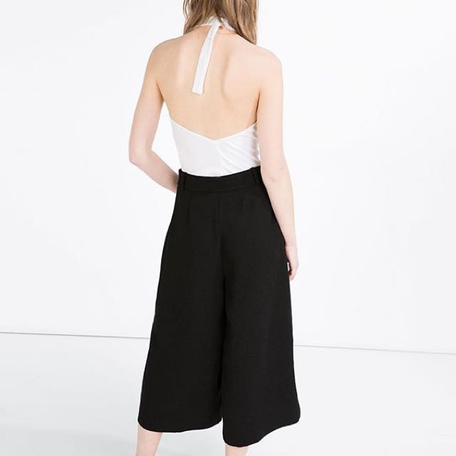 Zara👽WW Culottes Black👽