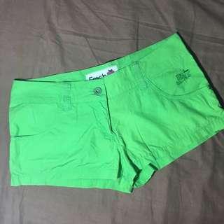 Sexy Neon Green Shorts