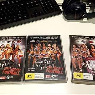 Lingerie Football League DVDs
