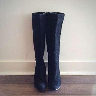 Nine West Black Boot