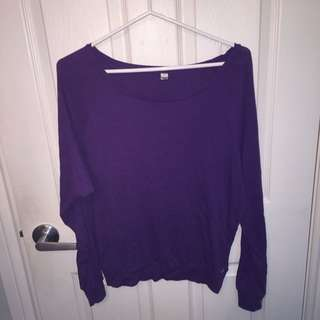 TNA LONG SLEEVE TOP (M)