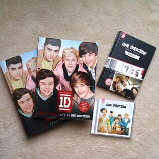 One Direction Books & Albums