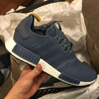 NMD R1 Tech Ink/White