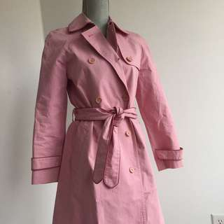Marc Jacobs Pink Trench Coat