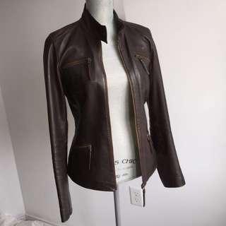 Danier Brown Leather Jacket