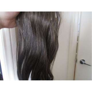REAL HAIR EXTENTIONS 60CM IN LENGTH