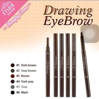(New) ORIGINAL 100% Etude House Drawing Eyebrow