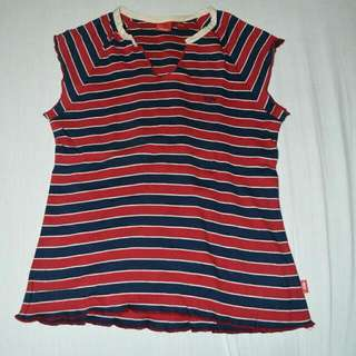 Mossimo Striped Shirt Large