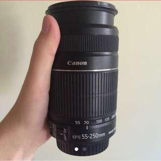 Canon 50-250mm Lens