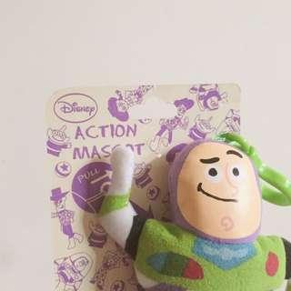Disney 巴斯光年 拉繩玩偶 吊飾