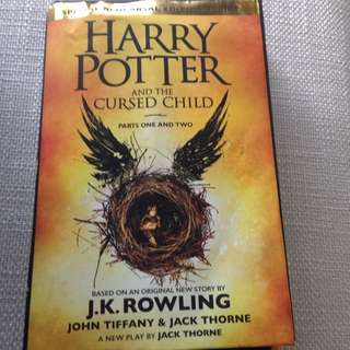 Latest Harry Potter - The Cursed Child By J.K.Rowling