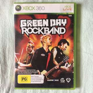 Green Day Rock Band for XBOX 360