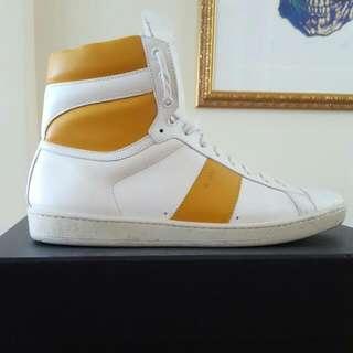 YSL Sneakers White/sunflower