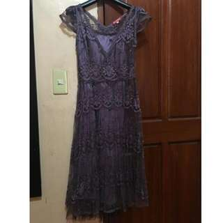 Karimadon 2-piece Violet Dress