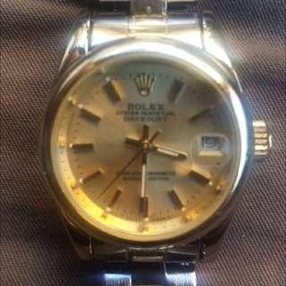 Authentic Rolex Chronograph wrist watch classic