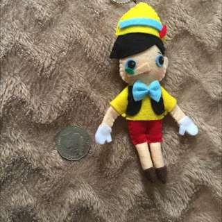 Pinochio Keyring