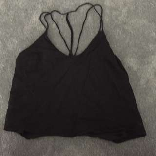 Bardot Black Strappy Cami