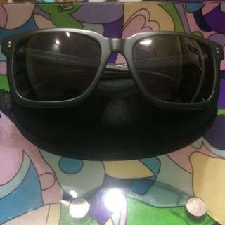 Kaibosh Hand Made Choc Chunk Wet Forest Green Sunglasses