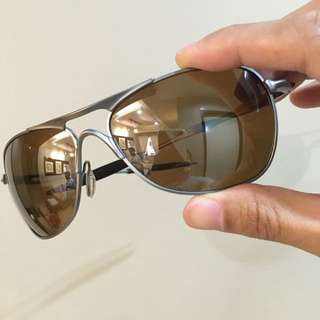 Rare Oakley Crosshair Titanium Polarized