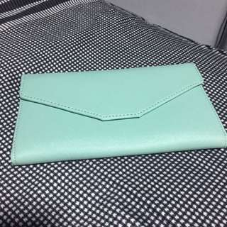 (Reduced $!) Tiffany Blue Clutch