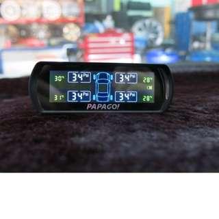 保證最平正品【PAPAGO!】TireSafe S60E 胎外式胎壓偵測器(外置版) (二年保固)