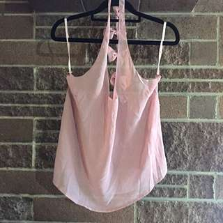 Angela Baby Sheer Tee With Bows (New With Tags)