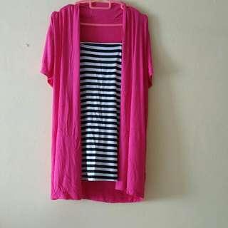 Striped blouse/ Tshirt