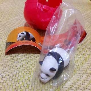 厚道動物扭蛋 熊貓