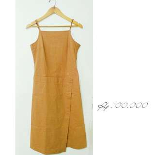 Asymetrical Brown Dress/Outer
