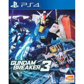 Gundam Breaker 3 English Sub