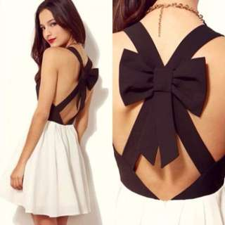 Cute ribbon Dress