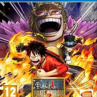 One Piece Pirate Warrior 3 Ps4