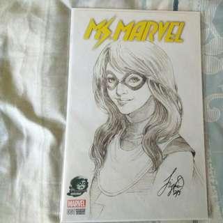 Ms Marvel #1 Phantom Variant
