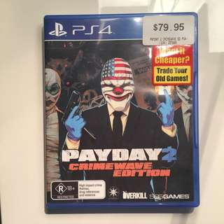 Payday 2 Crime Wave Edition PS4