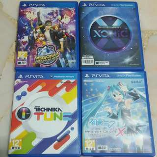 PS Vita Rhythm Games