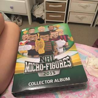 NRL Micro Figures 2016 Collectors Album