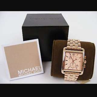 BRAND NEW w/BOX Michael Kors Davenport Watch Rose Gold