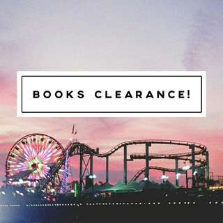 Clearing Out Books!! ✨
