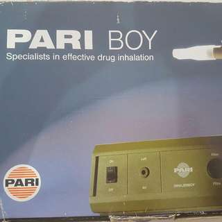 Pari Boy Drug Inhalation Device