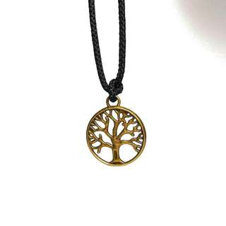 Circle Tree Necklace/Kalung