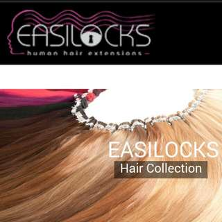 Easilocks ~~FREE SHIPPING~~Fishtail Braid Clip In Hair Extensions one Piece Light Brown-med Blonde Ombre