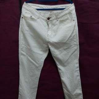 Cotton On Boyfriend White Jeans