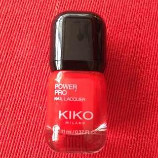KIKO - 專業指彩 POWER PRO NAIL LACQUER